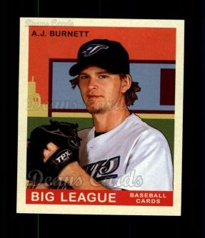 2007 Upper Deck Goudey Red Backs #1  A.J. Burnett