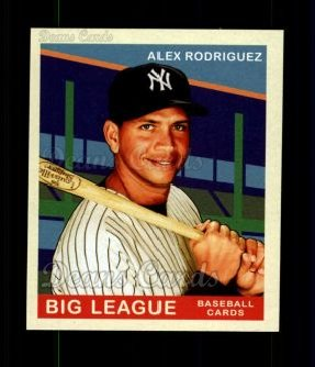 2007 Upper Deck Goudey Red Backs #101  Alex Rodriguez