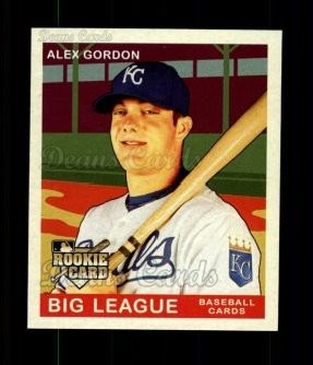 2007 Upper Deck Goudey Red Backs #141  Alex Gordon