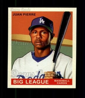 2007 Upper Deck Goudey Red Backs #196  Juan Pierre
