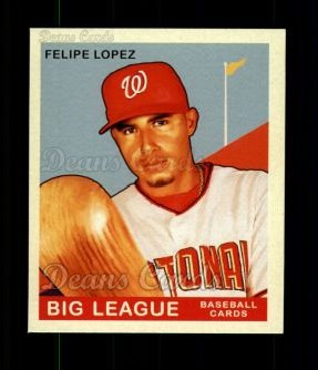 2007 Upper Deck Goudey Red Backs #198  Felipe Lopez