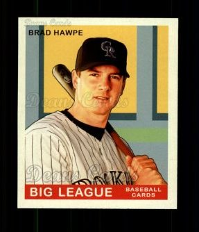 2007 Upper Deck Goudey Red Backs #199  Brad Hawpe