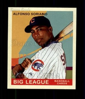 2007 Upper Deck Goudey Red Backs #8  Alfonso Soriano