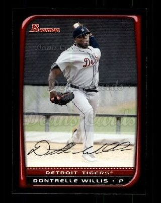 2008 Bowman #51  Dontrelle Willis
