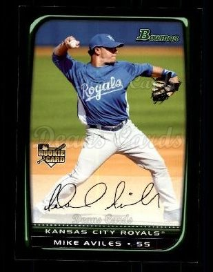 2008 Bowman Draft #3 BDP Mike Aviles