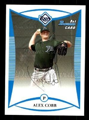 2008 Bowman Prospect #44 BP Alex Cobb