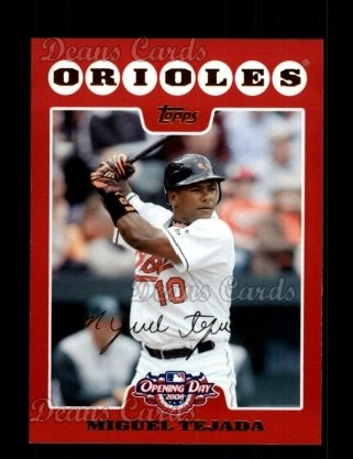 2008 Topps Opening Day #18  Miguel Tejada