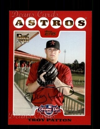 2008 Topps Opening Day #209  Troy Patton