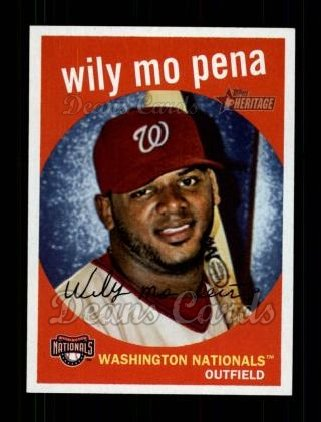2008 Topps Heritage #302  Wily Mo Pena