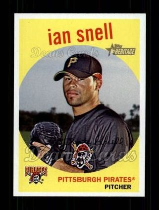 2008 Topps Heritage #339  Ian Snell