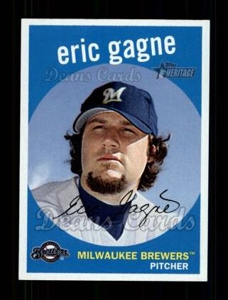 2008 Topps Heritage #395  Eric Gagne