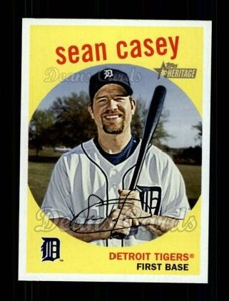 2008 Topps Heritage #458  Sean Casey