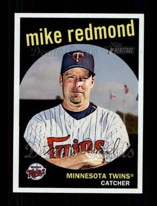 2008 Topps Heritage #639  Mike Redmond