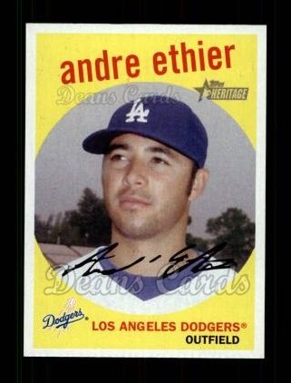 2008 Topps Heritage #9  Andre Ethier