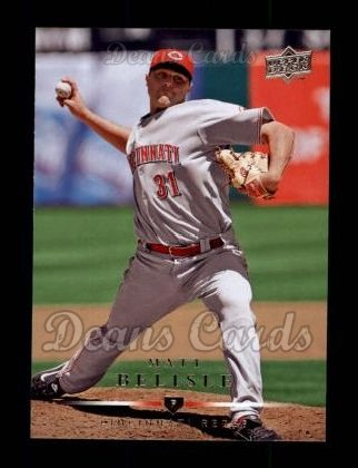 2008 Upper Deck #232  Matt Belisle
