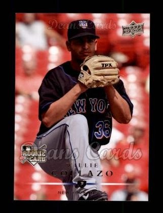 2008 Upper Deck #312  Willie Collazo