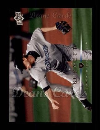 2008 Upper Deck #32  A.J. Burnett