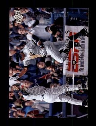 2008 Upper Deck #730   -  Alex Rodriguez Season Highlights