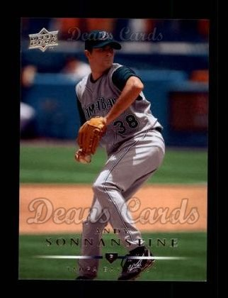 2008 Upper Deck #82  Andy Sonnanstine
