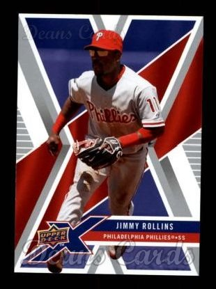 2008 Upper Deck X #75  Jimmy Rollins