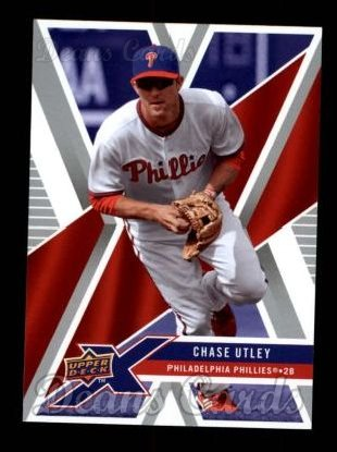 2008 Upper Deck X #77  Chase Utley