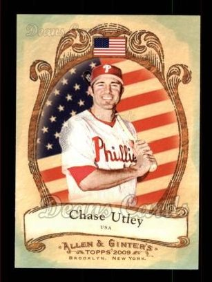 2009 Topps Allen & Ginter #24 NP Chase Utley