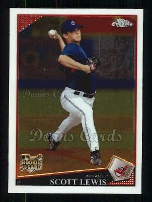 2009 Topps Chrome #178  Scott Lewis