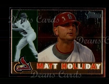 2009 Topps Heritage Chrome #164  Matt Holliday