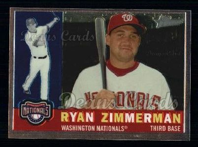 2009 Topps Heritage Chrome #94  Ryan Zimmerman