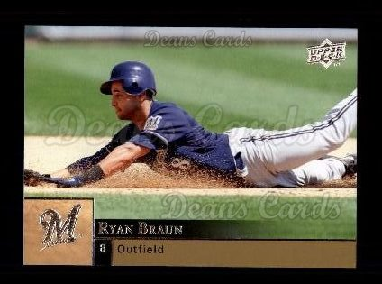 2009 Upper Deck #214  Ryan Braun