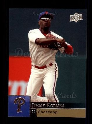 2009 Upper Deck #292  Jimmy Rollins