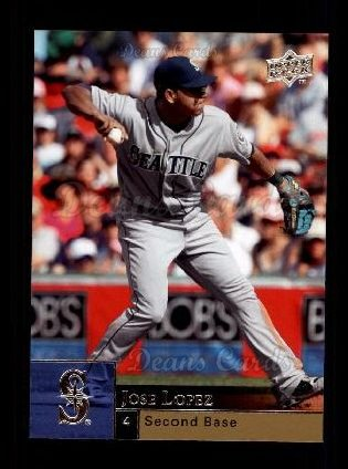 2009 Upper Deck #341  Jose Lopez
