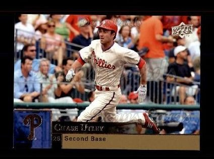 2009 Upper Deck #814  Chase Utley