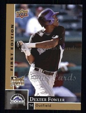 2009 Upper Deck First Edition #102  Dexter Fowler