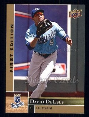 2009 Upper Deck First Edition #133  David DeJesus