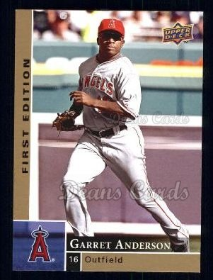 2009 Upper Deck First Edition #142  Garret Anderson