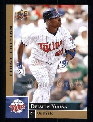 2009 Upper Deck First Edition #182  Delmon Young
