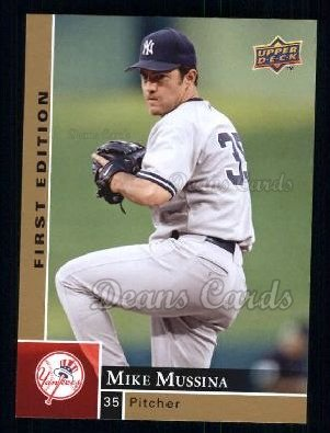 2009 Upper Deck First Edition #210  Mike Mussina