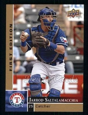 2009 Upper Deck First Edition #288  Jarrod Saltalamacchia
