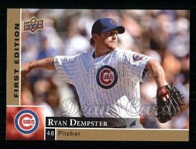 2009 Upper Deck First Edition #65  Ryan Dempster