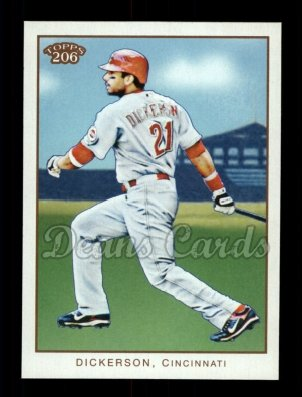 2009 Topps 206 #110  Chris Dickerson