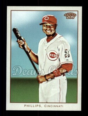 2009 Topps 206 #157  Brandon Phillips
