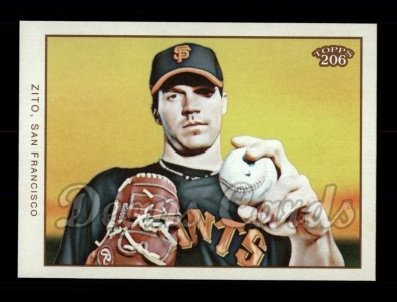 2009 Topps 206 #176  Barry Zito