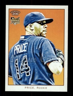 2009 Topps 206 #181 A David Price