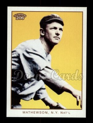 2009 Topps 206 #237 A Christy Mathewson