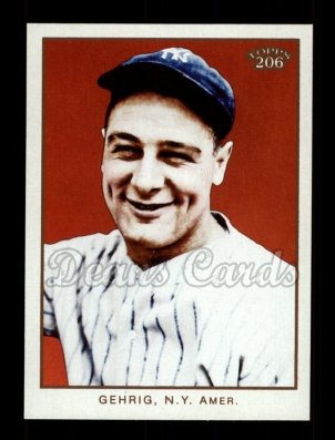 2009 Topps 206 #271 B Lou Gehrig