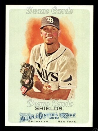 2010 Topps Allen & Ginter #217  James Shields