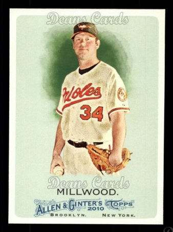 2010 Topps Allen & Ginter #237  Kevin Millwood