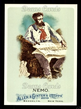 2010 Topps Allen & Ginter #264  Captain Nemo