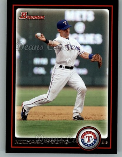 2010 Bowman #76  Michael Young